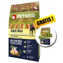 ONTARIO Adult Mini - chicken and potatoes 6,5kg + 0,75kg