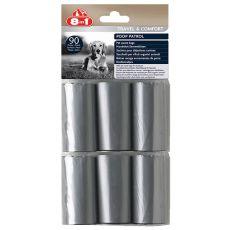 8in1 săculeți de rezervă pentru  gunoi - 6 x 15 buc