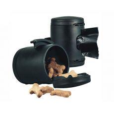 Flexi Multi Box neagră + pungă pentru deșeuri