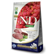 Farmina N&D dog GF QUINOA Weight Control, Lamb 7 kg
