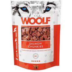 WOOLF Bucăți de Somon 100g