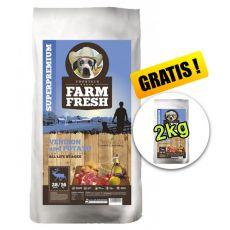 Farm Fresh Venison and Potato 20 + 2kg GRATIS