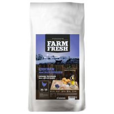 Farm Fresh Chiken and Blueberries - Pisici de interior/exterior, 2kg