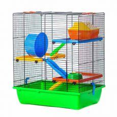 GINO TEDDY LUX II color - cuşcă pentru hamster