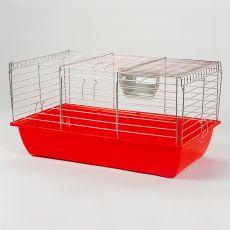 Cuşcă pentru iepuri si cobai - Rabbit 70, crom