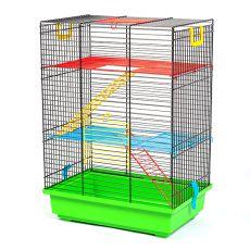 TEDDY II color - cuşcă pentru hamster