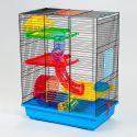 GINO TEDDY LUX II - cuşcă pentru hamster cu tunel