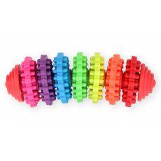 TPR Jucărie dentară cu peri din cauciuc, 13 cm