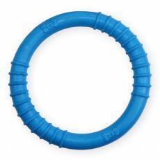TPR Inel din cauciuc cu țepișori - albastru 9,5cm