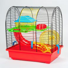 GRIM II - cuşcă pentru hamster cu tunel