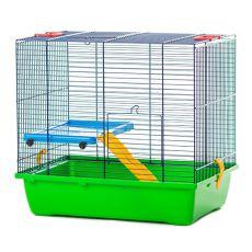TEDDY LUX I color - cuşcă pentru hamster, 430 x 280 x 385 mm