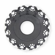 Jucărie pentru câini - roată din vinil, 11cm