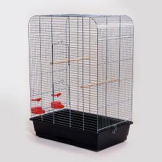 Colivie papagali NINA crom - 54 x 34 x 75 cm