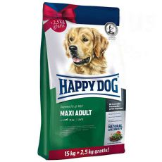 Happy Dog Supreme Fit and Well Adult Maxi 15 + 2,5kg GRATIS