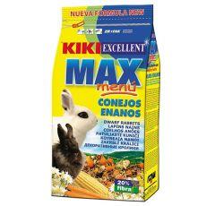KIKI EXCELLENT MAX MENU - hrană pentru iepuri pitici 1kg