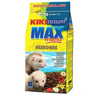 KIKI EXCELLENT MAX MENU - hrană pentru dihori 800 g