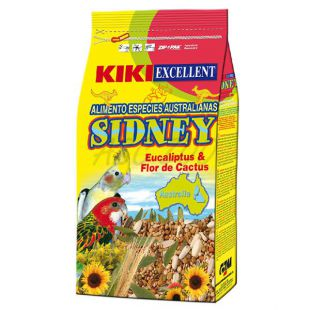 KIKI SIDNEY - hrană pentru cockatieli și papagali 800g