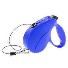 Lesă Amigo Easy Mini până la 12kg - 3m bandă, albastră