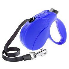 Lesă Amigo Easy Mini  până la 12kg - 3m bandă, albastru