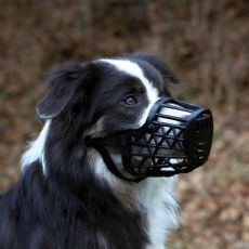Botniță câine, din plastic - dimensiune L/XL, 35 cm