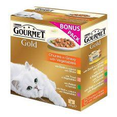 Conservă GOURMET PERLE - bucăți în sos, 8 x 85g