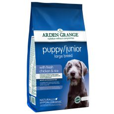ARDEN GRANGE Puppy / Junior Large Breed with fresh chicken and rice, 12 kg
