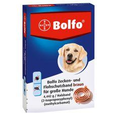 Zgardă antiparazitară BOLFO pentru câini de talie mare, 66 cm