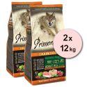 Primordial GF ADULT - pui și somon 2 x 12 kg