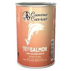Conservă Canine Caviar SALMON Grain Free 375 g