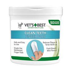 Dischete curățare dinți VET´S BEST, 50 buc