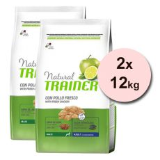 Trainer Natural Adult Maxi, cu pui 2 x 12 kg