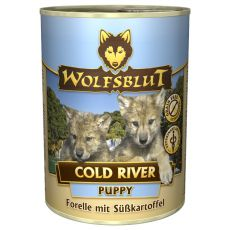 Conservă WOLFSBLUT Cold River PUPPY, 395 g