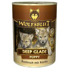 Conservă WOLFSBLUT Deep Glade PUPPY, 395 g