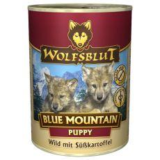 Conservă WOLFSBLUT Blue Mountain PUPPY, 395 g