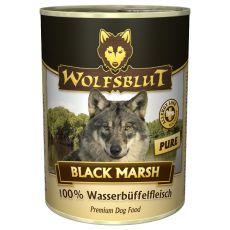 Conservă WOLFSBLUT Black Marsh PURE, 395 g