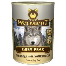 Tin WOLFSBLUT Grey Peak PURE, 395 g