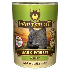 Conservă WOLFSBLUT Dark Forest, 395 g