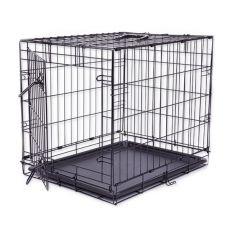 Cușcă câine Black Lux, M - 78,5 x 52,5 x 59 cm