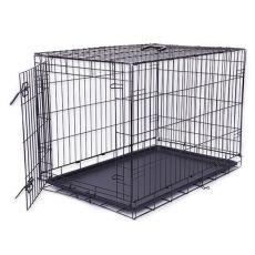 Cușcă câine Black Lux, L - 91 x 59 x 65,5 cm