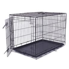 Cușcă câine Black Lux, XXL - 125,8 x 74,5 x 80,5 cm