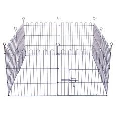 Grilaj Dog Park Black Lux 8-hexagonal, S - 61 x 61 cm