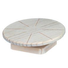 Disc de alergare din lemn pentru rozătoare mici, 20 cm