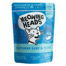 MEOWING HEADS Surf & Turf GRAIN FREE 100 g