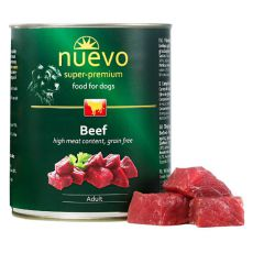 Conservă NUEVO DOG Adult Beef 800 g