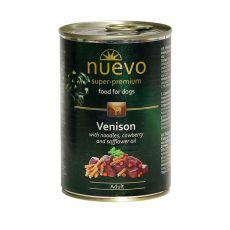 Conservă  NUEVO DOG Adult Venison Menue 400 g
