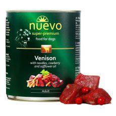 Conservă NUEVO DOG Adult Venison Menue 800 g