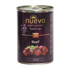 Conservă NUEVO CAT Adult Beef 400 g