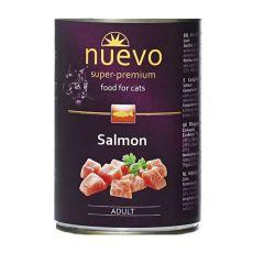 Conservă NUEVO CAT Adult Salmon 400 g