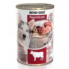 Conservă New BEWI DOG – carne de vită, 400 g