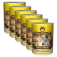 Tin WOLFSBLUT Gold Fields PURE, 6 x 395 g